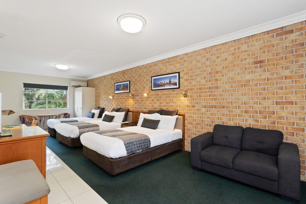 Family Room Lounge area